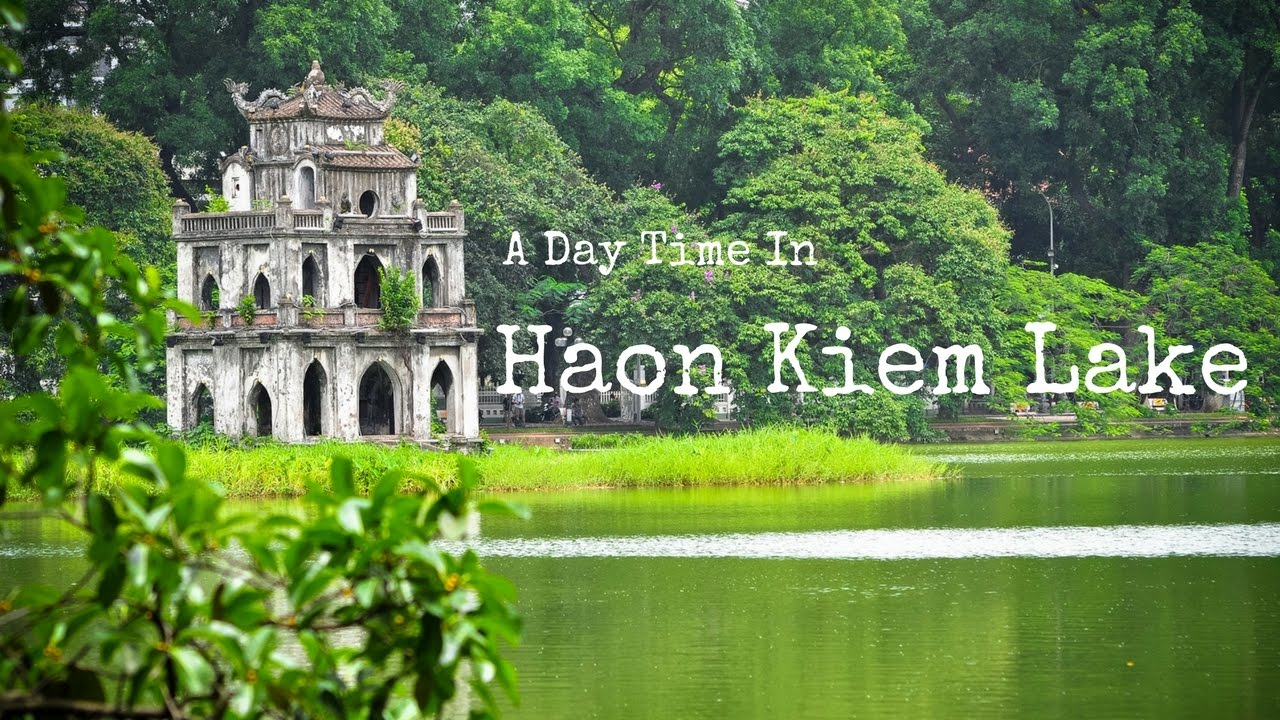 a day time in hoan kiem lake hanoi vietnam 19th november 2016 youtube. Black Bedroom Furniture Sets. Home Design Ideas