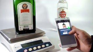 Liquor Bottle Scale Alot Com