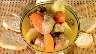 Vietnamese Food-ca Ri Ga-chicken Curry Stew-soup-how To Make Cook Curry-thai-jamaican-indian-recipes