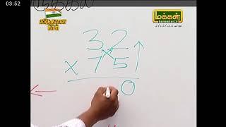 Manakanakku Mayilvahanan easy multiplication 2 digits