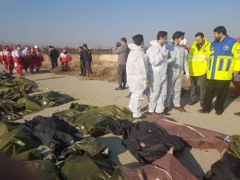 Заснято на телефон самолёт загоревшийся в Иране.💥 Авиакатастрофа Украинского самолёта в Иране