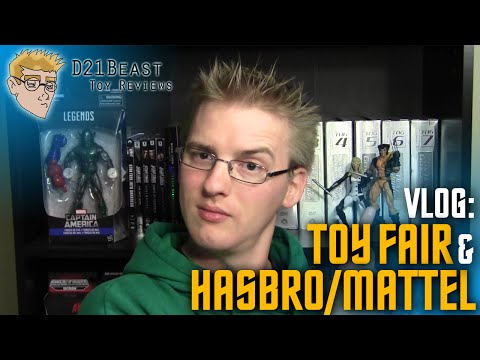 VLOG #13 - Thoughts on possible Hasbro/Mattel Merger