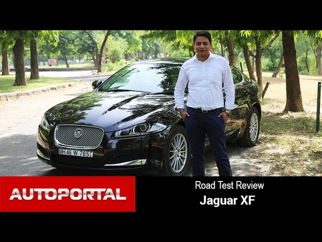 Jaguar XF Test Drive Review -  Autoportal