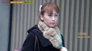 2015.1.9 shooting 月組中日劇場公演『風と共に去りぬ』お稽古入り.