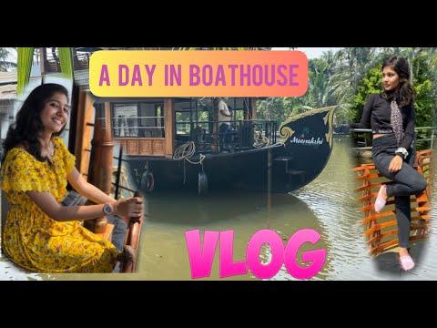 Boat house vlog | double the trouble | Shyni | Sania