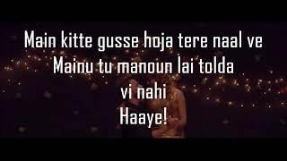 Tu Hi Meri Duniya Jahan Ve Song Lyrics || Sohnea Song Lyrics ||