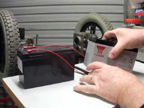 How to test a wheel chair motor (1)