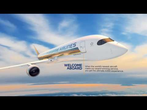 The Ultimate A350 Experience | Singapore Airlines