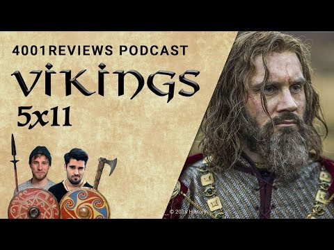 Podcast: Vikings 5x11 &39;Land der Steine&39; Analyse Theorien Fakten  4001Reviews Podcast 37