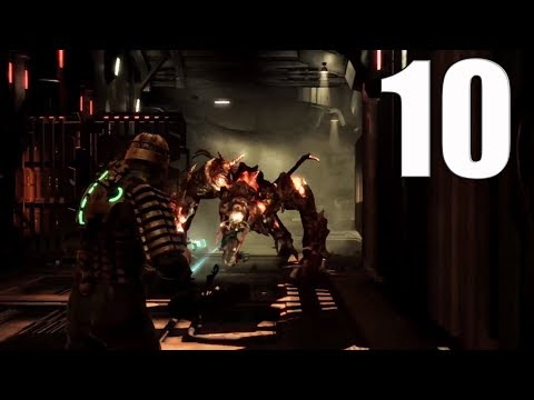 Dead Space Hard Playthrough Gameplay Part 10|Brute Force (PS3)