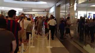 Apple Store Opening at the Quaker Bridge Mall