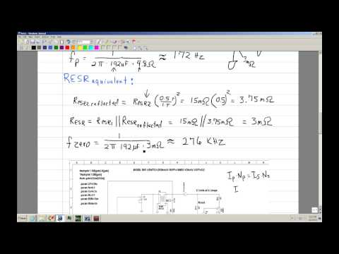 Loop compensation of a Multiple Output flyback Part 4 .wmv