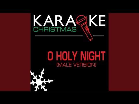 Oh Holy Night Karaoke Instrumental Track Male Version