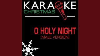 Oh Holy Night (Karaoke Instrumental Track) (Male Version)
