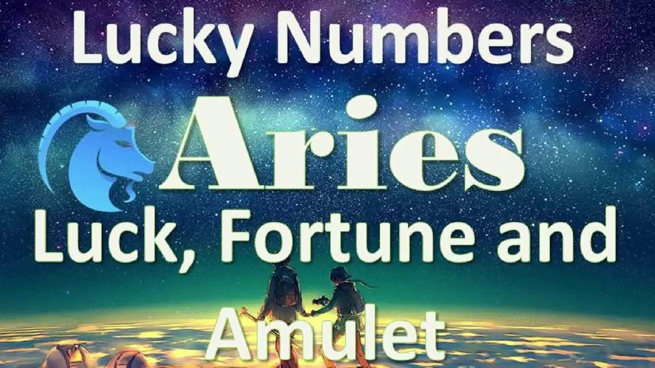 Aries Luck Today and the Today's Lucky Numbers
