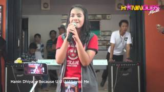 "Hanin Dhiya - Because You Loved Me "" Celine Dion Cover """