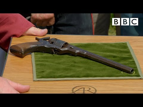 Early Colt revolver valued at £150,000 - Antiques Roadshow - BBC