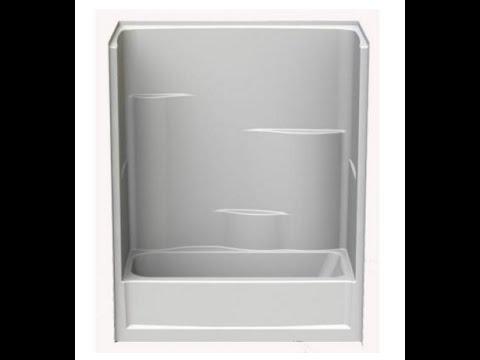 How to remove a tub, shower, fiberglass enclosure, demo, tear-out ...