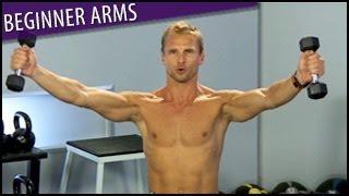 Beginner Arms Workout: Arm Flab Blaster- Steve Jordan