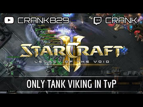 StarCraft2: Only Tank Viking in TvP