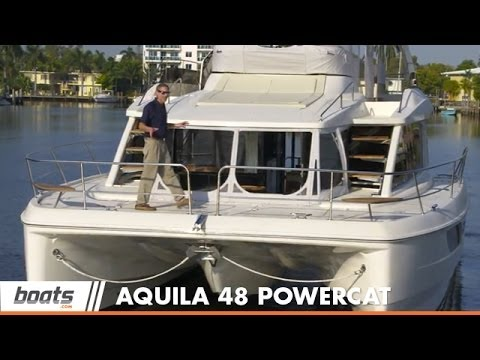 Aquila 48 Power Catamaran: Boat Review / Performance Test