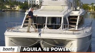 Aquila 48 Power Catamaran: Boat Review / Performance Test