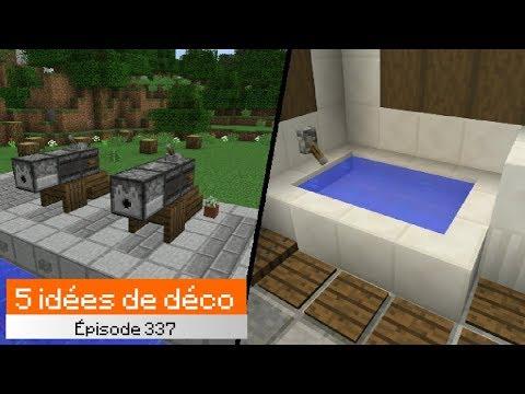 S01 EP03 - Top 5 idées de décoration en 1.13 Minecraft N.2