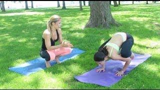 Yoga Handstands For Beginners - GetFitWithLeyla