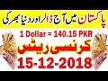 Pakistan Today Dollar And Gold Latest News | PKR to US Dollar | Gold Price in Pakistan 15-12-18