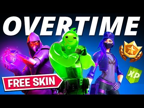 GET FREE SKINS & REWARDS IN FORTNITE! (Overtime Challenges Purple Remedy Skin - Remedy Vs Toxin)