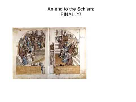Disasters in the 1300s 1: The Great Schism