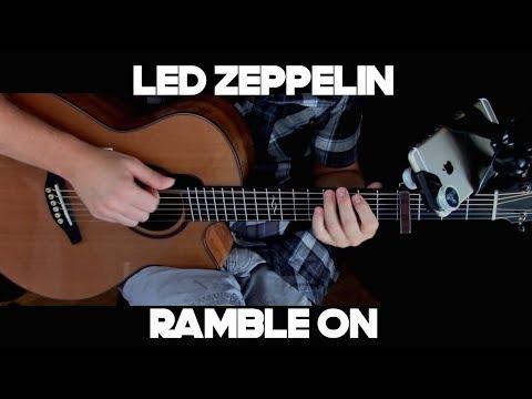 Kelly Valleau - Ramble On (Led Zeppelin) - Fingerstyle Guitar