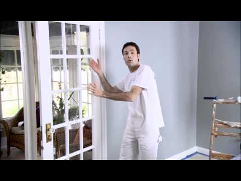 Painting doors benjamin moore youtube for Benjamin moore french white
