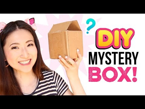 Opening DIY Mystery Boxes!!! Craft Supply Grab Bags! Unboxing, Review & DIYs
