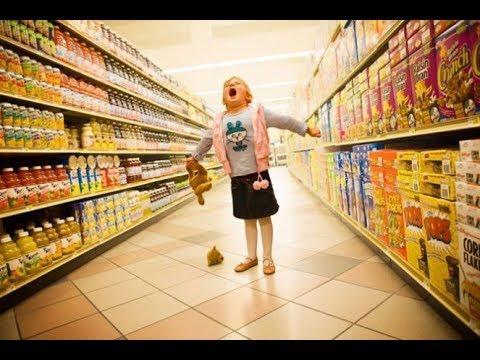 Как ходить по магазинам с грудничком