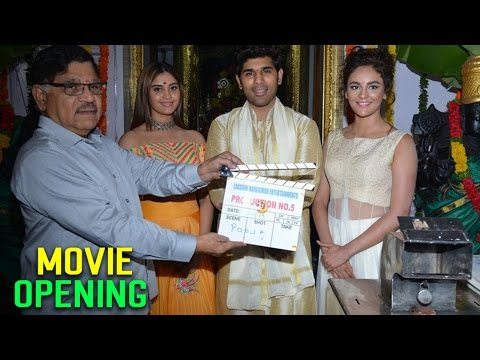 Allu Sirish New Movie Opening Video ||  Allu Sirish,Surabhi,Seerath Kapoor