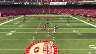 Madden 25 :: PLAYSTATION 4 Gameplay :: FIRST PS4 Game! - 49ers Vs. Seahawks - Online Gameplay PS4