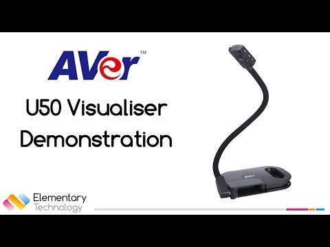 Aver U50 Visualiser Demonstration