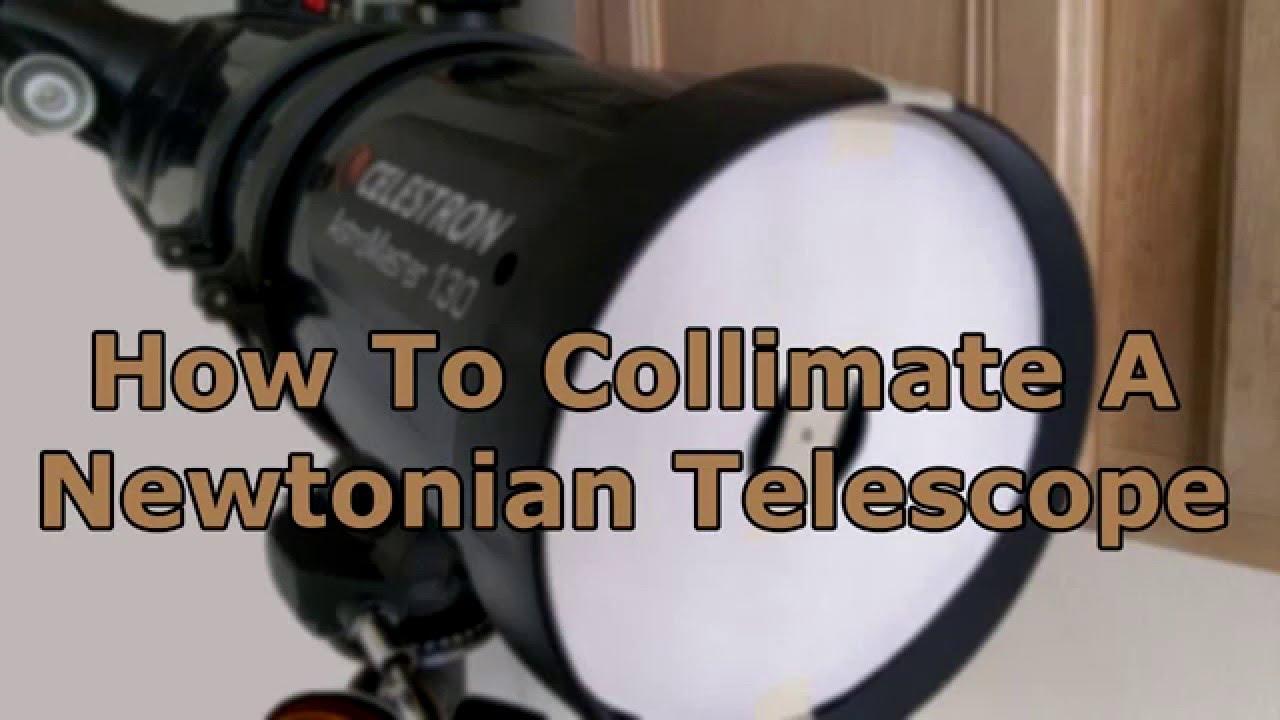 how to use newtonian telescope