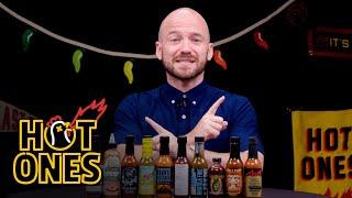 Sean Evans Reveals the Season 16 Hot Sauce Lineup | Hot Ones