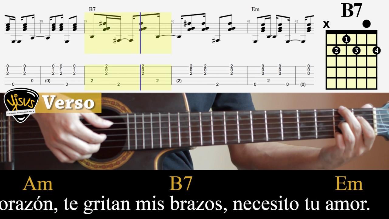 Por Que Me Fui A Enamorar De Ti Acordes Y Letra Para Guitarra Ukulele Bajo Y Piano