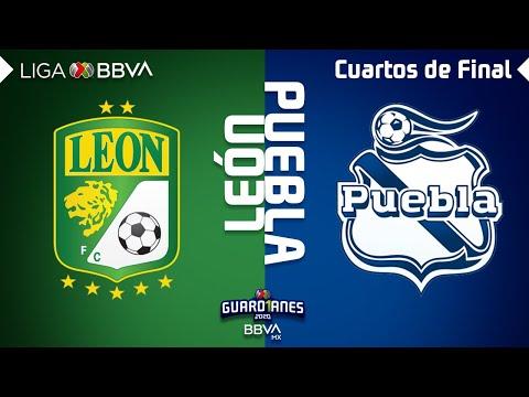 Resumen. y Goles   León vs Puebla   Liga BBVA MX - Guardianes 2020 - Cuartos de Final