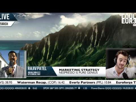 Rajiv Patel - Nespresso's marketing strategy