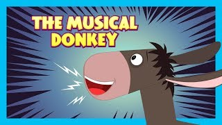 THE MUSICAL DONKEY - Moral Story For Kids || Kids Learning Stories - Kids Hut Stories