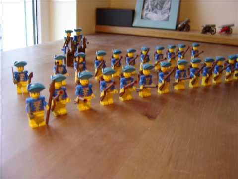 18th Century Swedish lego Army by Piotr Napierała