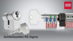 DOM RS Sigma Schließsystem