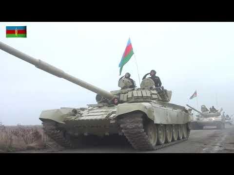 """Azerbaycan Savunma Bakanlığı: """"Ordumuz Ağdam'a Azerbaycan bayrağını dikti"""""""