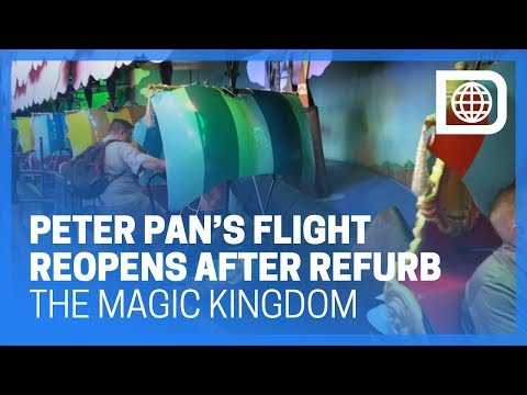 Peter Pan's Flight - The Magic Kingdom