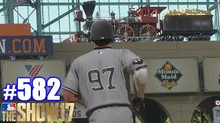 INSIDE-THE-PARKER IN HOUSTON! | MLB The Show 17 | Road to the Show #582