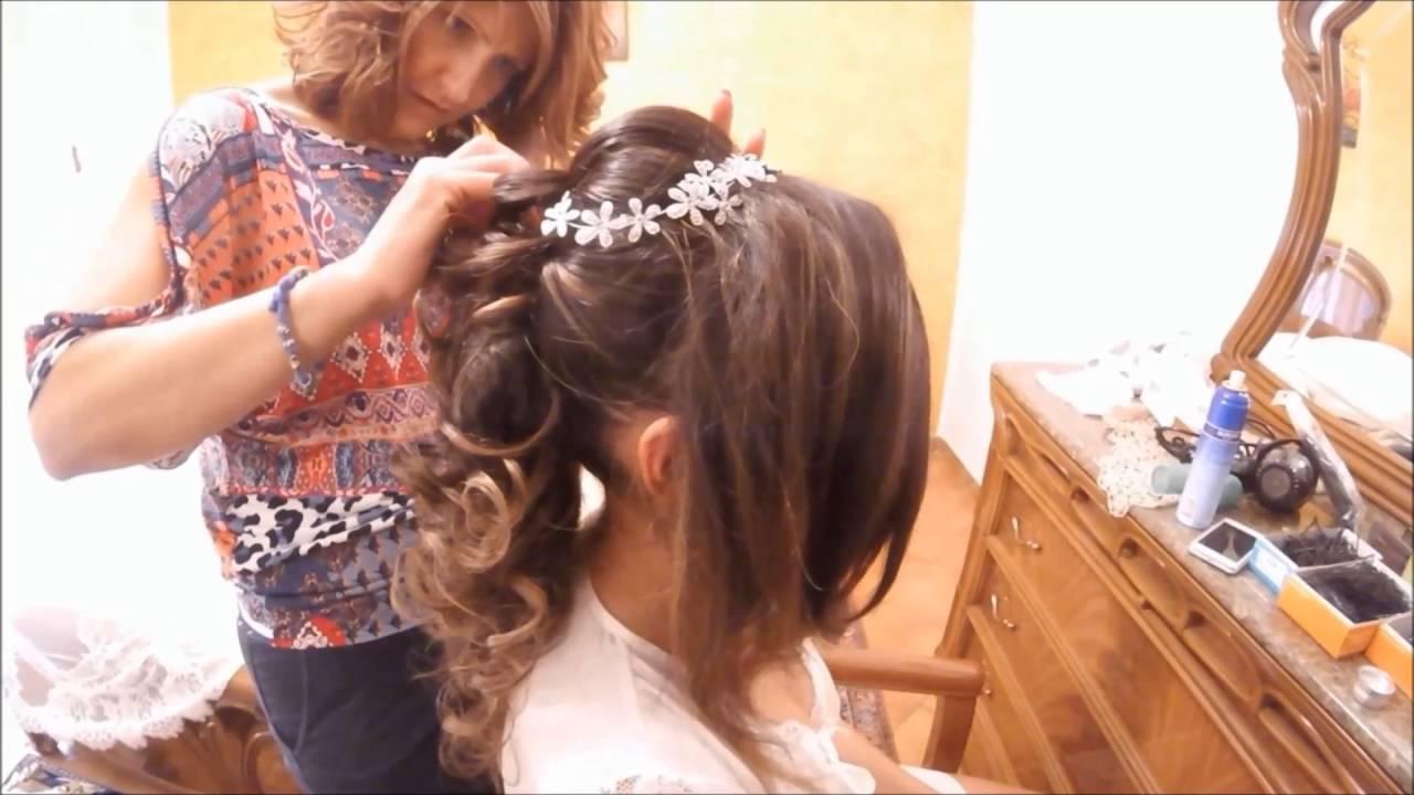 Acconciatura Semi Raccolto Sposa 2016 Id Parrucchieri Wedding Hairstyle